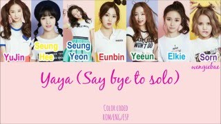 Download Video CLC (씨엘씨) - Yaya (Say bye to solo) (Color Coded ROM/ENG/ESP) MP3 3GP MP4