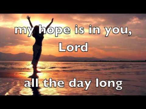 My Hope Is In You by Aaron Shust (Lyrics)