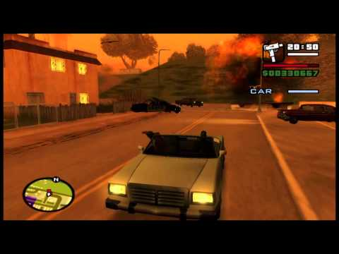GTA San Andreas (PS4) (End of the Line) (Final Mission)