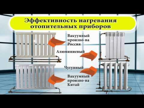Вакуумный радиатор