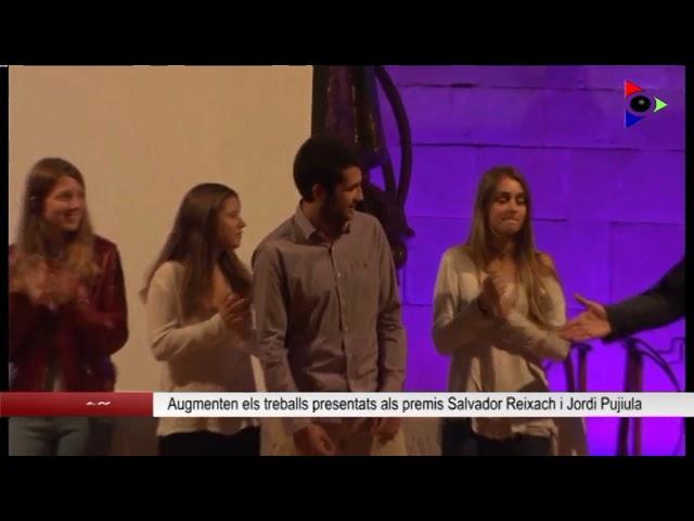 Olot, ciutat educadora: PREMIS JORDI PUJIULA I SALVADOR REIXACH