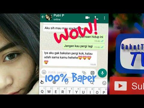 PRANK TEXT - PAKAI LAGU DASH UCIHA (Merindukanmu) #100% BAPER