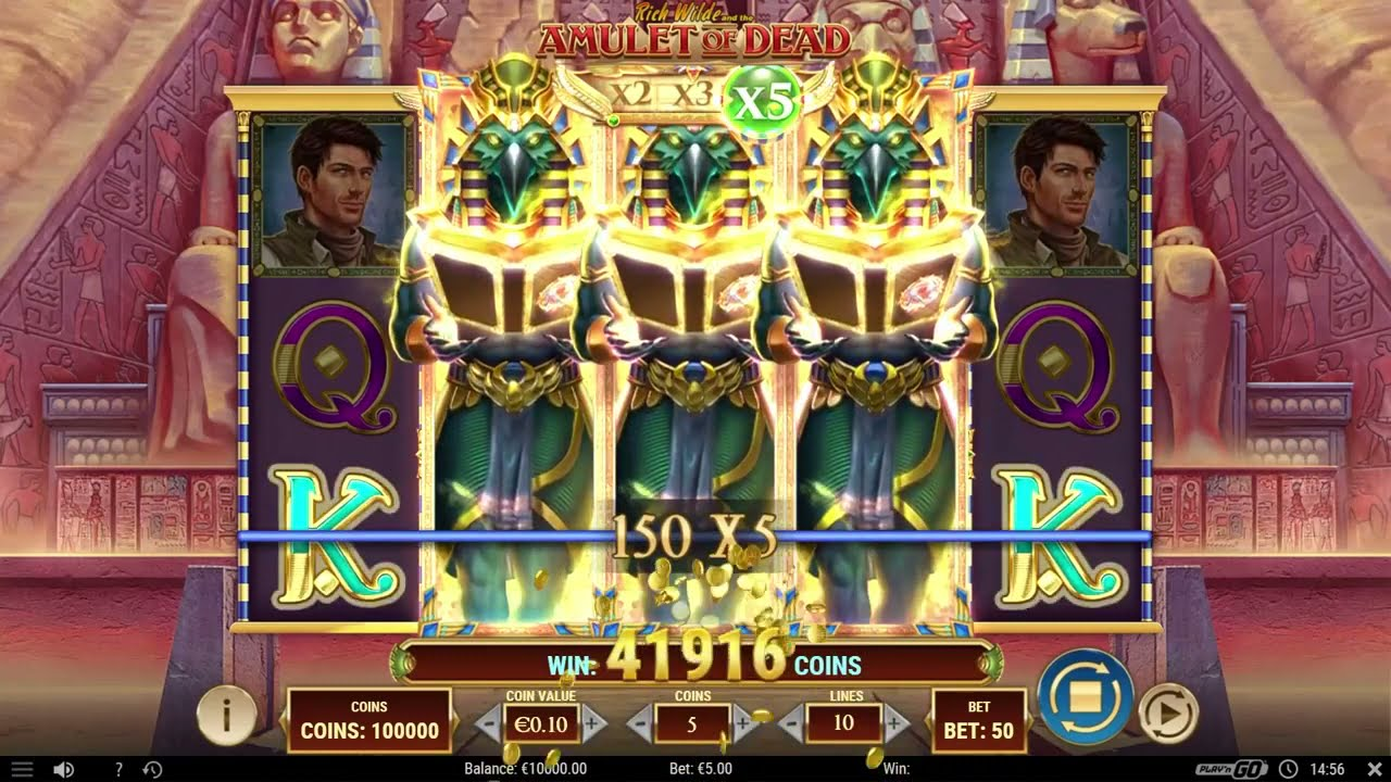 Rich Wilde and the Amulet of Dead Slot Play Free ▷ RTP 96.3% & High Volatility video preview