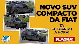 Novo SUV Fiat 2022 | Novo Flagra | Motores Express Urgente