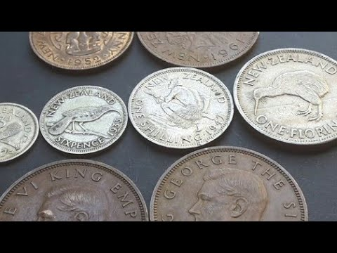 Coins Of The New Zealand Pound, Before 1967