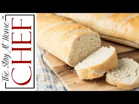 How to Make Perfect Homemade French Bread - YouTube