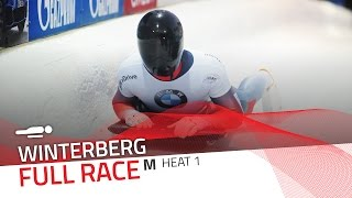 Winterberg | BMW IBSF World Cup 2016/2017 - Men's Skeleton Heat 1 | IBSF Official