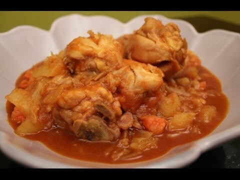 How to Make Korean Spicy Chicken Stew (닭도리탕) - YouTube