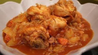 How To Make Korean Spicy Chicken Stew (닭도리탕)