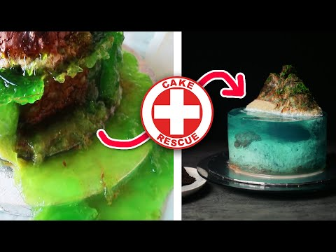 Cake Rescue fixing viral cake fails | How To Cook That Ann Reardon