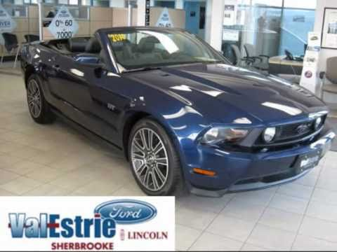 mustang gt 2010 vendre sherbrooke qu bec youtube. Black Bedroom Furniture Sets. Home Design Ideas