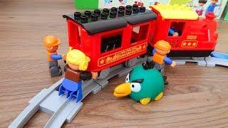 Машинки игрушки Лего Поезда мультики Город машинок 282 - Пассажиры. Мультики для детей про Машинки