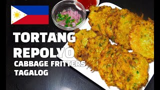 Tortang Repolyo Recipe - Cabbage Fritters - Filipino Recipes - Pinoy Cooking - Tagalog Youtube