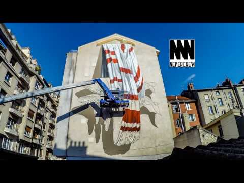 Timelapse NEVERCREW - Grenoble Street Art Festival