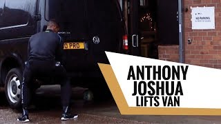 Download Anthony Joshua Lifts Van to Get Kids Football on RDX Shoot Mp3 and Videos