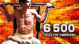 6500 pull ups in 30 days. Challenge. Pullups