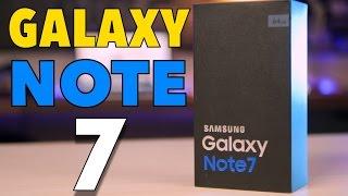 Samsung Galaxy Note 7 UNBOXING EN ESPAÑOL (El mejor Android?)