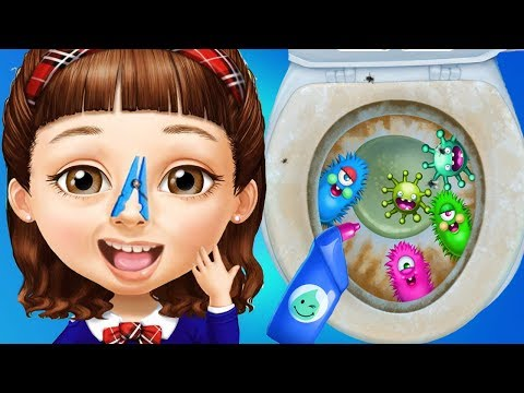 Fun Sweet Baby Girl Clean Up - House Makeover & Pet Care Cleaning Kids & Girls Games