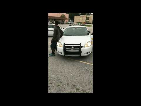 Florida Cop Threatens Man With Jail for jaywalking in Jacksonville, Florida.