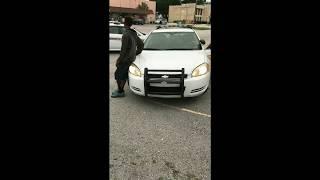 Two black men in Jacksonville, Florida were walking across the stre...