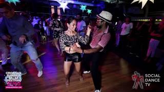 Daniel & Lady Setlight - Salsa social dancing | Croatian Summer Salsa Festival, Rovinj 2018