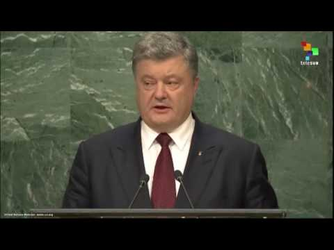 UN Speeches: Ukranian President Petro Poroshenko