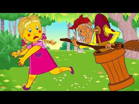 Мультфильм для детей про бабу ягу
