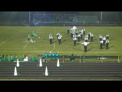 Genoa Central High School Marching Band   Sept 29, 2017