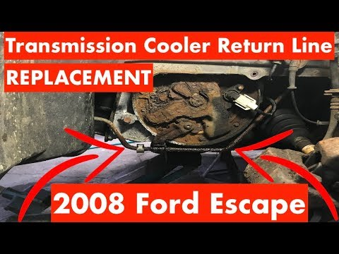 Transmission Cooler Return Line Replacement 2008 Ford