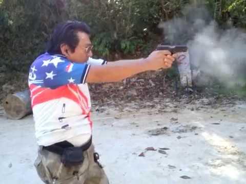 Takuya, então pistola?Sim!!! Treine sempre com arma! Treinamento com falhas de percussão e recarga!