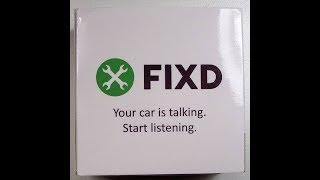 (EPISODE 1,872) UNBOXING VIDEO: FIXD.COM OBD-II ACTIVE CAR HEALTH MONITOR   @FIXD_app
