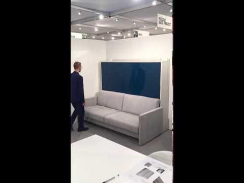 łóżko Chowane Z Sofą Click O Lower Sofa Syncro Italvision