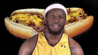 #LaSalleMBB: How do you like your cheesesteak?