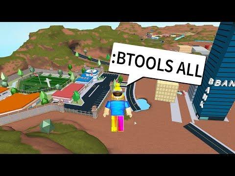 :BTOOL ADMIN COMMANDS TROLL in JAILBREAK! (Roblox Jailbreak TROLLING)