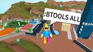 :BTOOL ADMIN COMMANDS TROLL in JAILBREAK! (Roblox Jailbreak TROLLING)