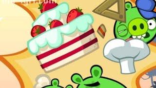 Веселая ИГРА головоломка для детей Bad Piggies или Плохие свинки [258] Серия