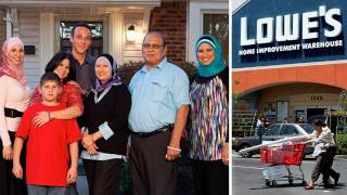 Muslim Hating Porn Addict Brings Lowe's to their Knees