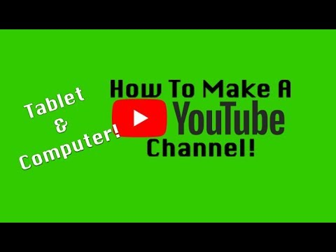 How To Make Your Own Youtube Channel (iPad & Mac Tutorial)