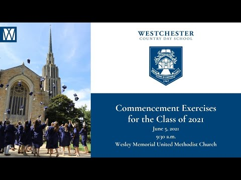 Westchester Country Day School Graduation