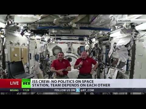 EXCLUSIVE RT Q&A with ISS crew from orbit (FULL VIDEO)