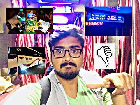 YBM Travels | Mini Bedroom | Premium Ac bus | chennai to Thanjavur | Epi 17