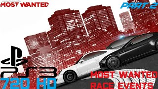 Need for Speed Most Wanted 2012 (PS3) - Part 2 [Most Wanted Race Events]