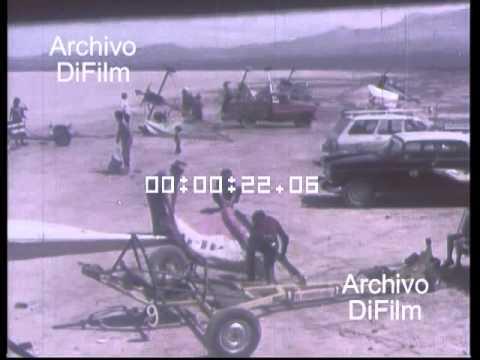 Una tradicional competencia de carrovelismo celebró sus 40 años
