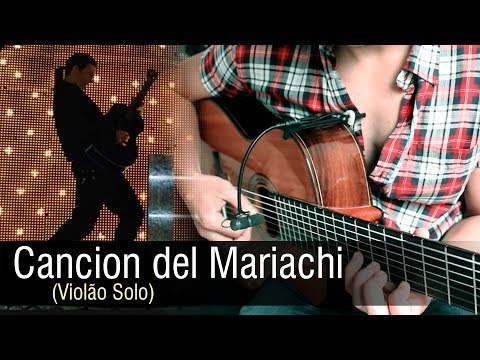 Desperado  Antonio Banderas  Cancion del Mariachi Violão Solo Rafael Alves