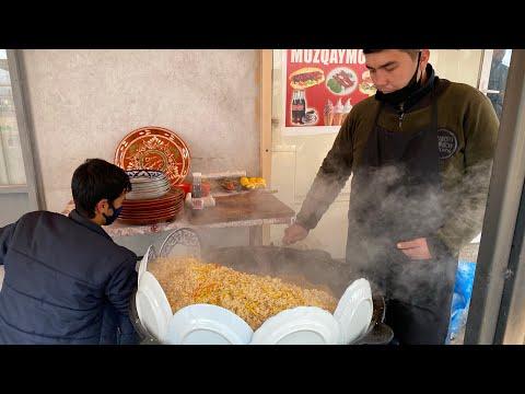 Узбекский Плов!!Как правильно приготовить Настоящий Узбекский Плов-как на рынке! ГУМа!!Узбекистан!!