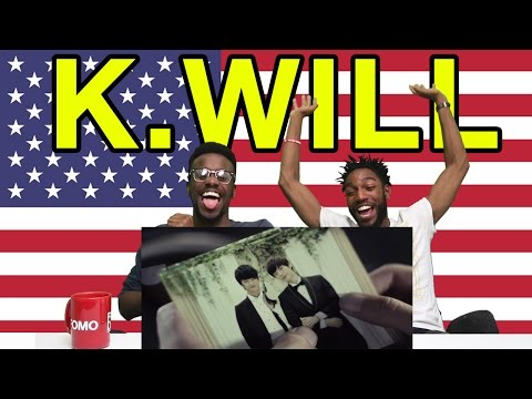 "Americans React To K.Will ""Please Don't"""