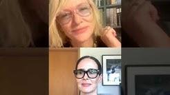 Cate Blanchett and Sarah Paulson live Instagram stream May 19th 2020