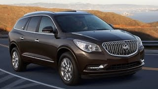2016 Buick Enclave Start Up and Review 3.6 L V6