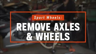 How To Remove Motorcycle Wheels | Sport Bikes