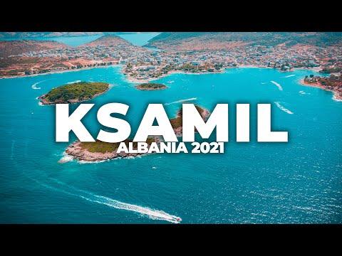 KSAMIL, SARANDE 2021 | 4K DRONE VIDEO, ALBANIA
